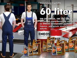 ENEOS akció szerelőnadrágért