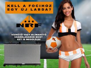 NRF hűtő mellé focilabda
