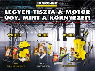 Kärcher tisztító akció