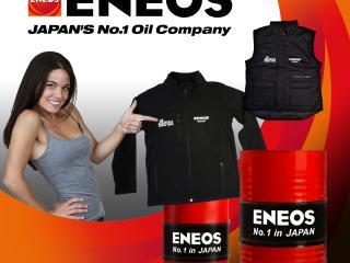 Ulei ENEOS cu geacă sau vestă gratis