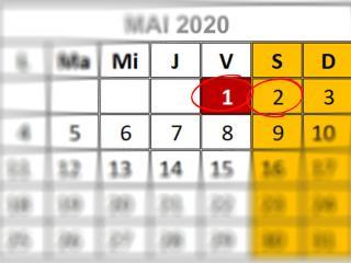 Program 1 - 2 Mai